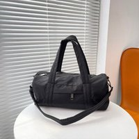 Lu Mens Womens Sport рюкзак Фитнес-мешки путешествия Сумка для хранения Открытый нейлон Лулу рюкзаки складки сухой и влажный разделитель Lululemen 2021 29ii #