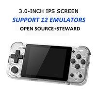 Mini Retro El Oyun Oyuncu Q90 Açık Kaynak Linux Steward Video Konsolu GB / GBA / FC / PS / MD / SFC / GG Dahili 3000 Oyunlar Taşınabilir Oyuncular