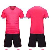 Hommes Kit Custom Soccer Jerseys Adultes Kits Personal Kits DIY Nom Numéro Logo Forteam Uniformes Chemises de football Jeunesse 06