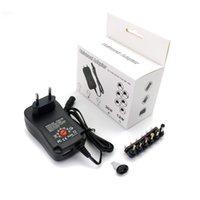 Power Supply 어댑터, 8 차기 인터페이스, 조정 가능한 전압, LED 조명 스트립 램프, 전원 어댑터 30W 범용 충전기