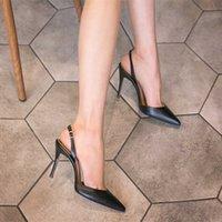 Mhyons 6 см 8 см 10 см Сандалии женщин в порядке с острыми ноями моды Европы и америки дикие летние женщины 210608