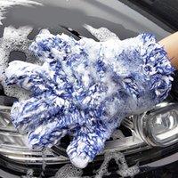 قسط سيارة غسيل غسيل قفاز قفاز عالية الكثافة ستوكات غسيل السيارات نظافة ميت أقصى امتصاص أفخم قفاز سيارة العناية