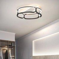 Ceiling Lights Post Modern Led Lamp For Living Room Bedroom Kitchen Hallway Nordic Gold Lighting Home Deco Dining Lamps
