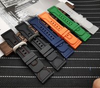 Top Quality Silicone Rubber Watch Accessories Waterproof Wrist band Bracelet Belt 28mm Men Watchbands for Seven Friday Strap