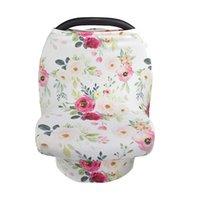 赤ちゃんの授乳中の看護カバーの花の葉の英語の手紙マルチデザインの母親の送りキッズプライバシーは布をカバーします布18kk L2