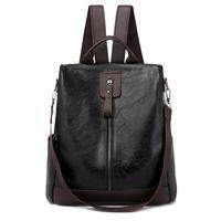 Pink sugao designer backpacks pu leather high quality travel shoulder bag luxury back pack 2021 fashion backpack 4color choose