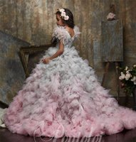 Girl's Dresses Luxury Feather Ball Gown Flower Girl For Wedding Beaded Appliqued Toddler Pageant Gowns Kids Prom Custom Made