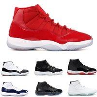 11 Xi Win gibi Kırmızı Mavi Concord Basketbol Çizmeler Çocuk Erkek Kız Çocuk Gençlik Spor Ayakkabı Paten Sneaker Boyutu EUR28-35
