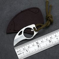 Mini MC Pocket open cutter box package opener knife tool Outdoor camp gadget portable claw Karambit sheath Survive Knives HW190