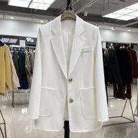 Costumes féminins blazers vanovitch féminin 2021 printemps et automne style coréen femmes couleur solide mode de mode sauvage
