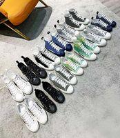 2020 B27 B22 B24 B24 مصمم أحذية رياضية مستفيد جلدية فنية 19ss الزهور التقنية عارضة الأحذية الفنية الأحذية الجلدية الحجم 35-45