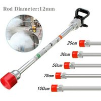 50 75cm 100cm US Airless Paint Sprayer Spray Gun Base Tip Extension Pole Rod Fluid Atomizing Non-Friable Nozzle Bar Watering Equipments
