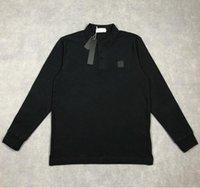 NewDesigner Polos da uomo Polos di alta qualità da ricamo in cotone T-shirt a maniche lunghe di lusso polo casual camicia da shirtmen vestiti tees