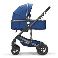 Strollers# Multi-function High Landscape Baby Stroller Good Quality Pushchair Infant Carrier Cradle Safety Carseat 3 In 1