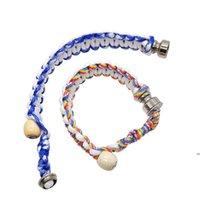 Nueva pulsera de tubo de fumar creativo 26 cm Pulsera portátil Pipa de metal Tubos de mano Tubos de mano Hombres Mujeres Grandes regalos Fumar tubos FWE6715