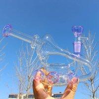 Kliein Recycler DAB Rigs narghilè tubi fumo tubi di vetro spesso Bongs di vetro in vetro Bong tubi di acqua Beaker Base Beaker DAB con ciotola 14mm