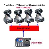 1080P60FPS 20x Zoom Большое расстояние Обучение SDI IP PTZ Видеоконференция Камера 3D Джойстик RJ45 LAN Клавиатура Контроллер Камеры