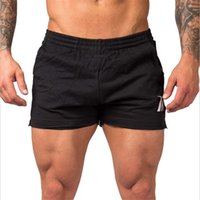 Gykz Yaz Yeni Erkek Spor Şort Moda Eğlence Spor Salonları Vücut Geliştirme Egzersiz Erkek Buzağı Uzunlukta Kısa Pantolon Marka Sweatpants
