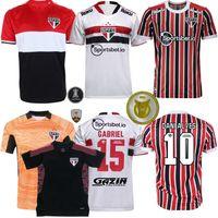 2021 2022 Sao Paulo Futbol Formaları Luciano Dani Alves Calleri Gabriel 21 22 Futbol Erkek Kadın ve Çocuk Gömlek