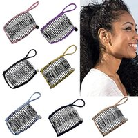 Hair Accessories Style 20 30 40 Comb Old-fashioned Banana Clip Stretchable Double Sliding Tool