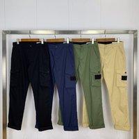 Moda Hombres Pantalón Casual Deporte Pantalones de carga Jóvenes Otoño Pantalones de múltiples bolsillos sólidos Jogging al aire libre Pantalones de pista de alta calidad