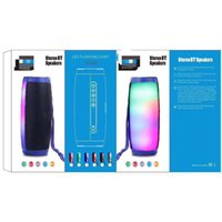 TG157 portable LED Bluetooth Speaker Wireless Waterproof Radio Mini Column Bass MP3 Subwoofer USB TV Sound Bar Box 1200mAh 5 colors