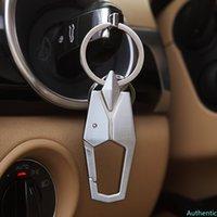High-End Car Key Chain Auto Styling Metal Key Ring Business Pendant for Suzuki Sx4 Toyota Rav4 Peugeot 206 Subaru Volkswagen