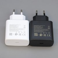 Портативный PD 3.0 USB 45 Вт Настенное зарядное устройство Тип C Супер быстрый заряд EU USB-C-C Чарджеры TA845 для Samsung Note20 S21