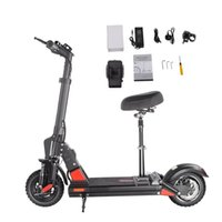 Bogist C1 Pro Electric Bicycle Scooter 48V 13AH Hasta 40km / H 40km Long-Rang 10 llantas llenas de aire Pantalla inteligente plegable