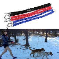 Double Dog Buffer Lead Coupler Two Pet Dogs Walking Duplex Leash Splitter Collars & Leashes