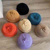 2021 New Fashion Multicolor Solid Color Sport Bonnet Knitted Beanies Hat Winter Warm Ski Hats Men Women Caps Soft Elastic Cap Rpj7