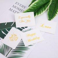 Cartão de convite de papel de moda personalizado Babyshower casamento casamento casamento para os agradecimentos presentes presentes favores dha5274