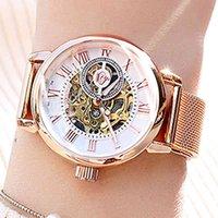 Lüks erkek ve kadın saatler tasarımcı marka saatler e de luxe pour femmes, marque suprieure, mod veya gül, squelette, otomatique,