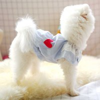 Spirng Summer Dog Clothes Lace Doll Shirt Warm Clothes for Small Dogs Costumes Coat Jacket Puppy Shirt Dogs Pets Outfits