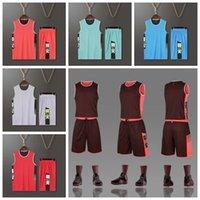2021 نمط كرة السلة كرة القدم سترة جيرسي التدريب دعوى مجموعات 10 ألوان الوجهين L-5XL يمكن تخصيص أي شعار قميص كرة القدم ارتداء 2036