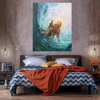 Jesus Hand into the Water Oil Painting On Canvas Home Decor HD Print Wall Art Picture Customization is acceptable 21061316