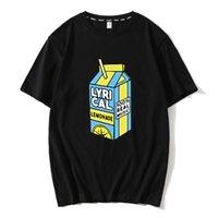 Men's T-Shirts Lyrical Lemonade Unisex Tshirt 100% Real Music Funny For Men Women Short Sleeve Top Tees Shirt