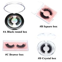 Multiple Styles 3D Mink Eyelashes Nature Thick Faux Eyelash Handmade False Lashes Extension Makeup Tools Eye Lash with 4 Kinds of Packing Boxes