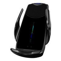 C2 Qi Chargeur de voiture sans fil Mont Auto-Sens Auto-serrer le support de chargeur sans fil de voiture rapide pour iPhone Huawei Samsung Smart Phones