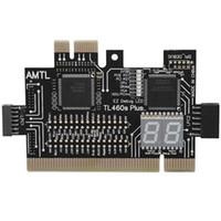 Smart Home Control multifonction PC PCI PCI-E Mini LPC Motherboard TL-460S Testeur de diagnostic Débogou Cartes d'analyseur pour ordinateur de bureau