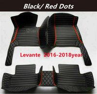 for Maserati Levante 2016-2018year Custom Car Splicing Floor Mats Waterproof Leather Wear-resistant Non-toxic Tasteless and Environmentally Friendly Foot Mats