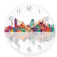 Wall Clocks 3d Clock Modern Watches Home Decor Luxury Silent Bathroom Waterproof Orologio Da Parete Nordic Design EE5