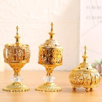 Fragrance Lamps Middle East European Style Delicate Incense Burner For Home Decoration Holy Decorative Ornament Stick Holder