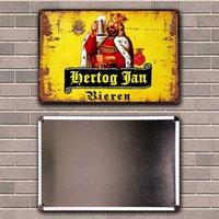 Belgian Beer Hertog Jan La CHouffe Orval Havana Club Leffe Tin Metal Sign Home Decor Painting 20*30 CM Size Dy181