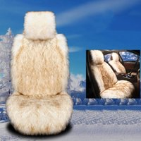 Universal Car Seat Cushion 3 Color Warm Front Single Plush Auto Interior Accessories Covers