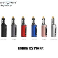 Innokin Endura T22 Pro Kit 3000mAh built-in Battery with 4.5ml T22-Pro Tank Adjustable Wattage T18 Coil 1.5ohm Replacement Vape E-cigarette Authentic