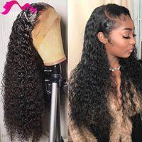 Lace Wigs 13x4 Wig 28 30 Inch Water Wave Human Hair Frontal 4x4 5x5 Closure Deep Curly Glueless Virgin Brazilian