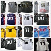Tela personalizada Impresso 11 Kyrie 7 Kevin Irving Durant 13 Harden Joe 12 Harris Drazen 3 Homens Petrovic Mulher Kids Youth Brooklyn Basketball Jerseys