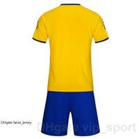 Kundenspezifischer Name Nummer Fußball-Jersey Fußball-Kits personalisierte Farbe blau weiß schwarz rot gelb machen maßgeschneidert 131