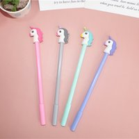 Pen Cartoon Unicorn neutral creative lovely fresh water middle school students use office learning water